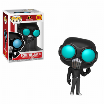 Pre-Order Funko Pop! Vinyl Disney The Incredibles 2: Screenslaver Figure